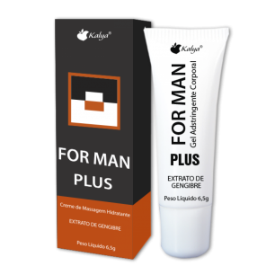 For Man Plus 6,5g Massagem Masculina Hot